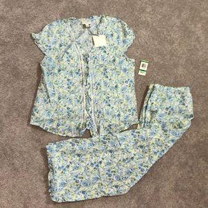 Charter Club Pajama Set 100% Cotton